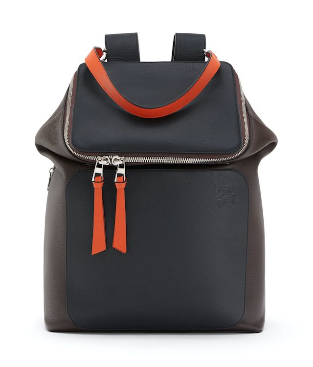 Goya Backpack Chocolate Brown/Orange