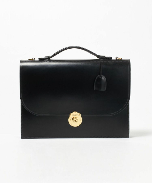 1 COMPARTMENT BRIEFCASE/フラップ付きブリーフケース