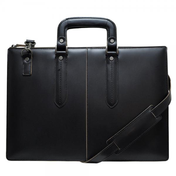 青木鞄 ブリーフケース 3681 枯淡